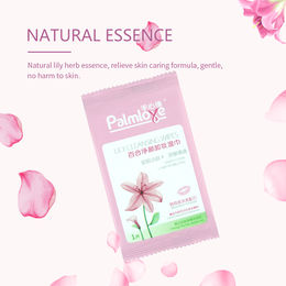 Moisturizing skincare makeup remover wet tissue from China (mainland)
