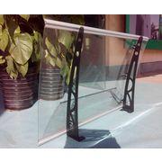 China DIY Awning Door Awning Polycarbonate Door Canopy Vordach DIY Awning  PC Awning, PC Awning