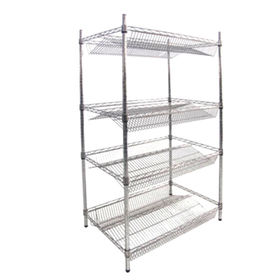 Chrome-plated wire shelving from China (mainland)
