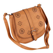 Ladies' PU leather shoulder bags from Hong Kong SAR