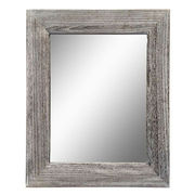 Weathered Natural Framed Mirror from China (mainland)
