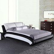 Turkish furniture leather bed Manufacturer