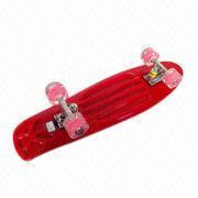 27 x 8-inch Kid's Plastic Skateboard Manufacturer