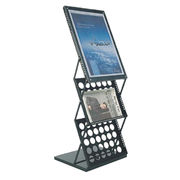 Poster/flyer display stand black metal from China (mainland)