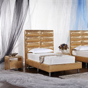 Bedroom furniture leather bed from China (mainland)