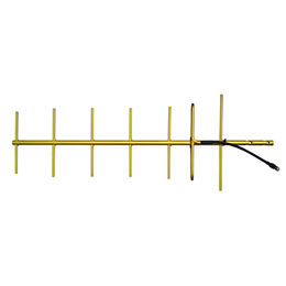 406-430 MHz Gold Anodized Welded yagi antenna / 7- from China (mainland)