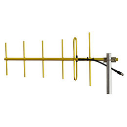 6-element 406-430 MHz UHF Gold Anodized Welded yag from China (mainland)