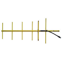 406-430 MHz Gold Anodized Welded yagi antenna from China (mainland)