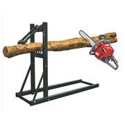 Log saw horse steel