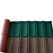 Stone coated steel roofing tiles from China (mainland)
