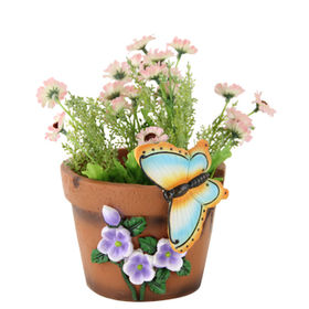 Polyresin Flower Pots from China (mainland)