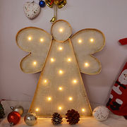 LED vintage metal Christmas angel light Manufacturer