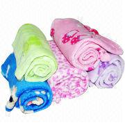 Polyester Coral Fleece Baby Blankets Manufacturer