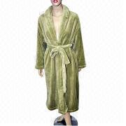 Robe, Made of 100% Polyester Polar Fleece, Weighs 160gsm