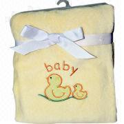 Polyester baby blanket Manufacturer