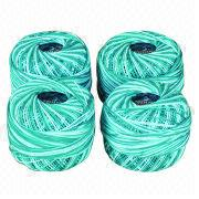100% cotton embroidery thread from China (mainland)
