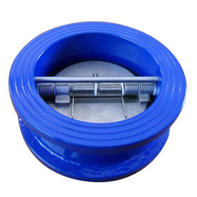 Cast Iron Wafer Type Double Disc Swing Check Valve from China (mainland)