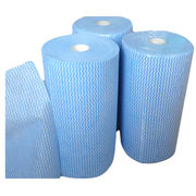 Nonwoven Floor Wipes, Composed of 70% Polyester/30% Polypropylene, Measures 22 x 29cm