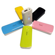 5200mAh multi-color portable charger, with logo from Shenzhen Sinway Technology Co. Ltd