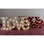 Plastic marquee letter-Love