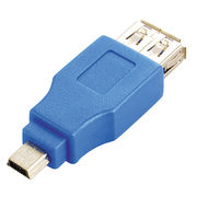 China USB 3.0 A female to mini B 10-pin male adaptor