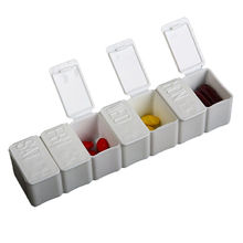 Promotional medical articles, 7-cases pill box(KL-9076)