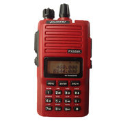 Dual Band 2-way Radio 136-174MHz/400-480MHz 5W Amateur Walkie Talkie, Built-in FM Radio, Red Color from Xiamen Puxing Electronics Science & Technology Co. Ltd