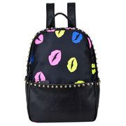 China Unisex Lovely Casual Kiss Daypacks