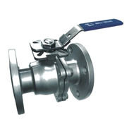 Stainless Steel 2pcs Flange Ball Valve, Full Bore, ANSI 150, With ISO 5211