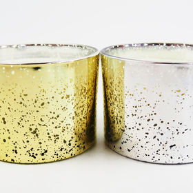 China Custom fragrance glass holder candle