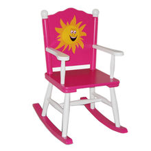 2015 indoor children's wooden rocking chair from China (mainland)
