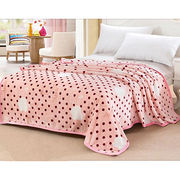 Printed Flannel Fleece Blankets from China (mainland)