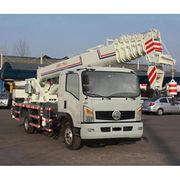 YL5140 Crane truck, 25T lifting capacity, manual 8 speed gear