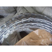 Razor Barbed Wire, Galvanized, PVC Painting, SGS Test