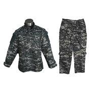 Black military uniform Manufacturer