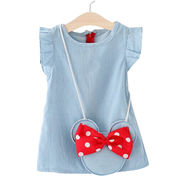 Girls' sleeveless dresses Manufacturer