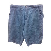 Men's 100% linen printed shorts from China (mainland)