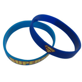 Promotional Printed Silicone Bands Manufacturer