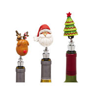 Decorative Polyresin Bobble head christmas figurin from China (mainland)