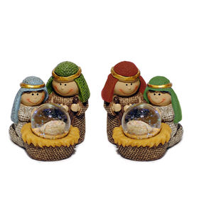 Polyresin Small Nativity set religious statues Manufacturer