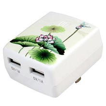 China Dual USB Mobile Phone Charger