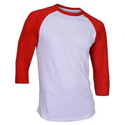 China Men's Casual 3/4 Sleeves Baseball T-shirt
