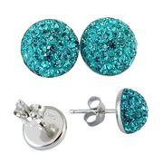 Crystal stud earring from China (mainland)