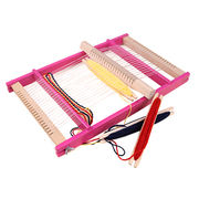 China 2015 funny play kid's wooden weaving loom toys