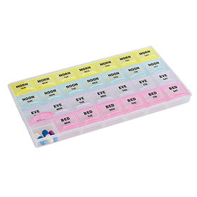 Plastic pill box from China (mainland)