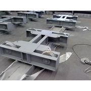 Mining steel platform lorry bogy steel structure Manufacturer