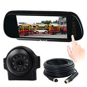 Rearview mirror monitor camera system
