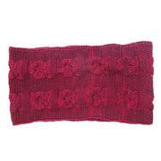 Cable Knitted Melange Acrylic Snood from China (mainland)