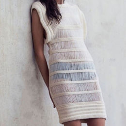 Stitch Knitted Summer Dress from China (mainland)