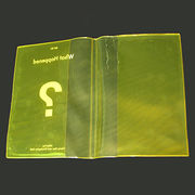 Plastic book cover from China (mainland)